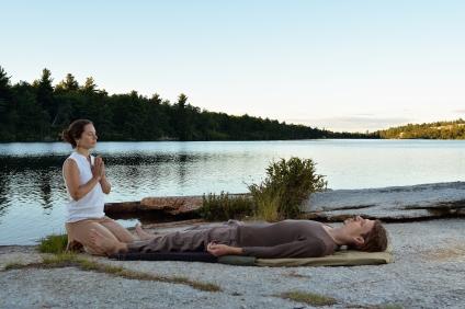 Thursday, August 13, 2015 -- Kerhonkson, NY, USA -- Thai Massage at Lake Awosting. -- Photo by Marc Santos
